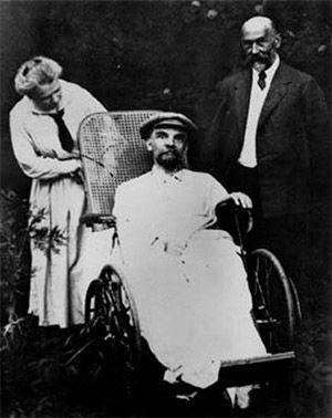 Hastalığında Lenin